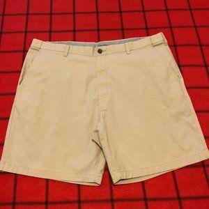 C&B Men's 44 Expandable Waist Khaki Outdoor Shorts